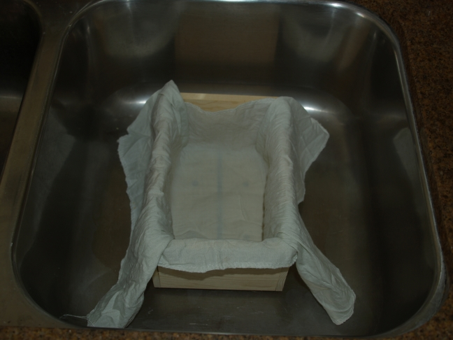 Tofu Press and Cheesecloth