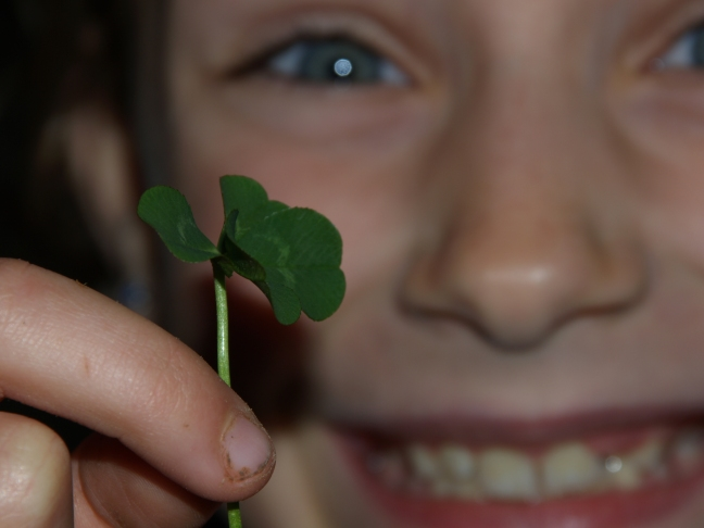 I'm Looking Over a Four-Leafed Clover...