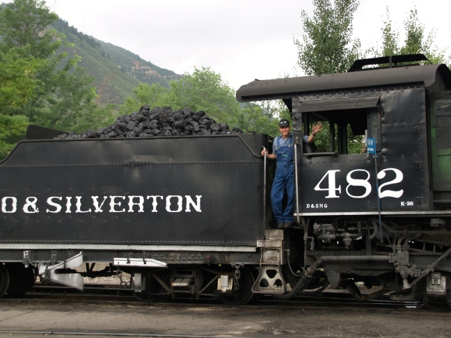 All Aboard! - Durango & Silverton Narrow Gauge Railroad, Durango, CO