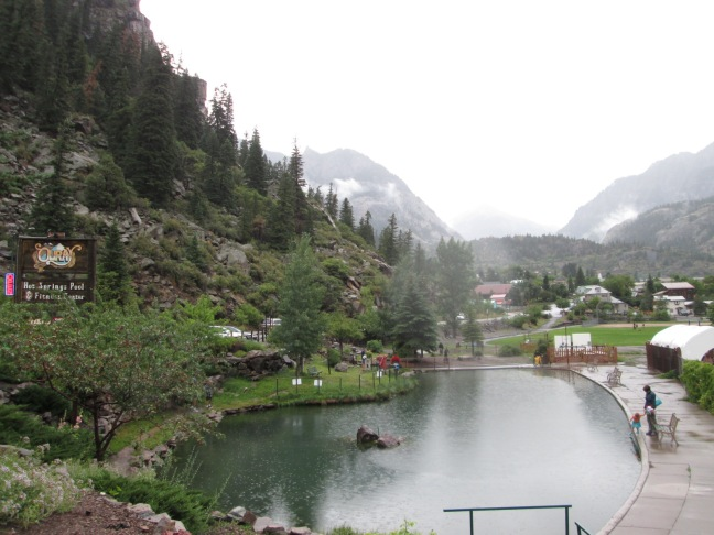 Chilly Hot Springs - Life in the clouds, Ouray, CO