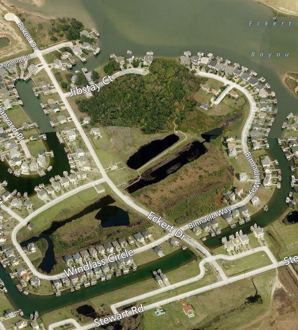 Lafittes Cove Aerial