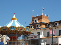 Pleasure Pier..We Drove By