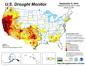 US-Drought-Monitor2014